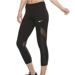 NWT Nike mesh leggings Sz S